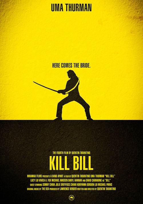 Kill Bill. Quentin Tarantino. Don't be surprised. I found it thrillingly perverse and I think Uma Thurman's performance in both parts the best of her career (so far).