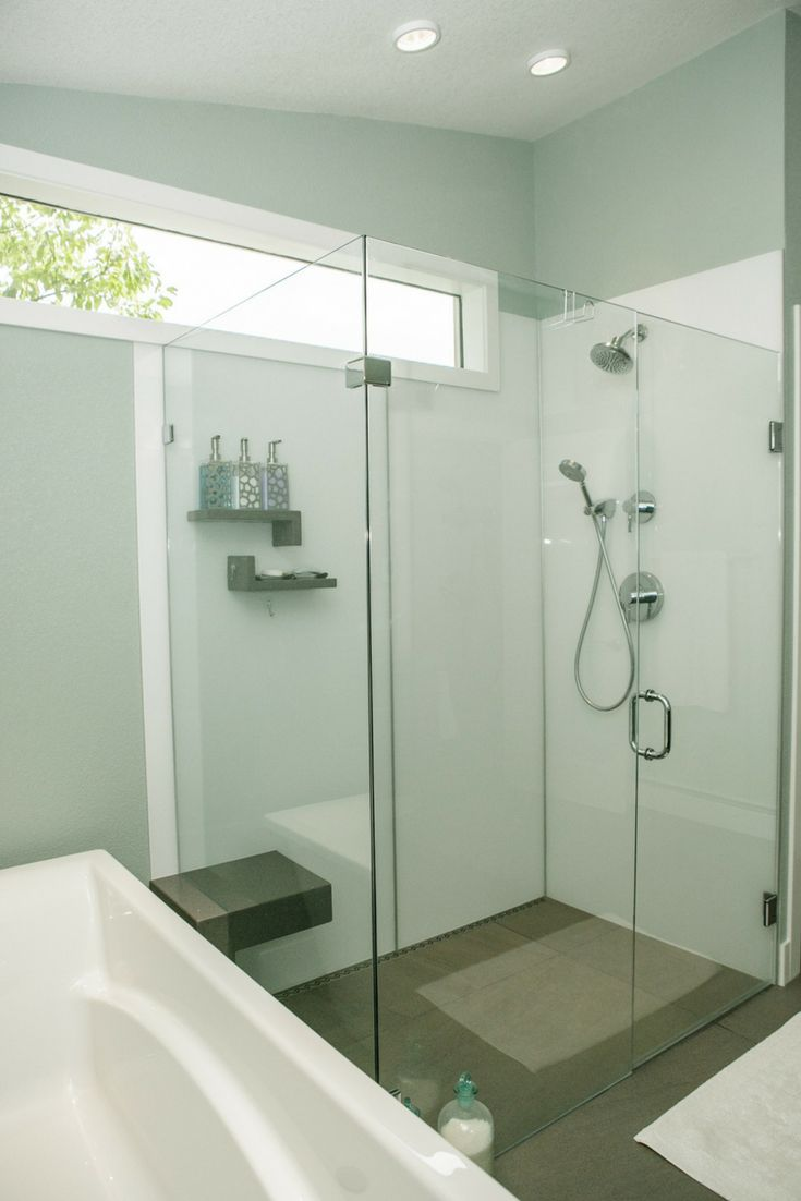 Glass wall panels bathroom - 5 Little Known Tips About Custom Shower Wall Panels