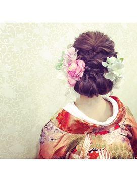 結婚式 和装 髪型 パズードコー PSSD-CO.+5 spring和装ヘア