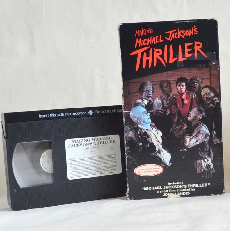 Michael Jackson Thriller. Making of & Short Film Music Video. Vintage 1980 Movie VHS Tape. Perfect Playable. For no mere mortal can resist.    Still Have