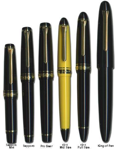 Schreibwerkzeuge sind auch so eine Leidenschaft: Sailor Fountain Pens - The mini looks amazing in extra fine!