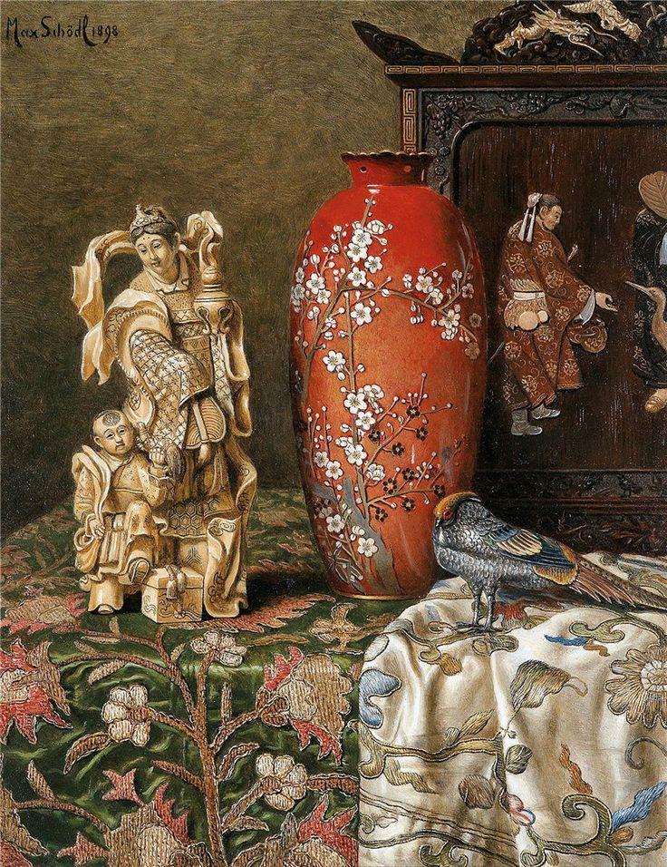 Max Schödl (1834-1921) — Asian Still Life, 1898   (832×1081)