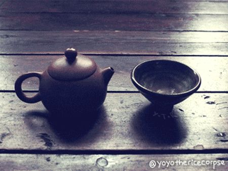 Would you like some tea?  #animated #pictures by Yoyo the Ricecorpse