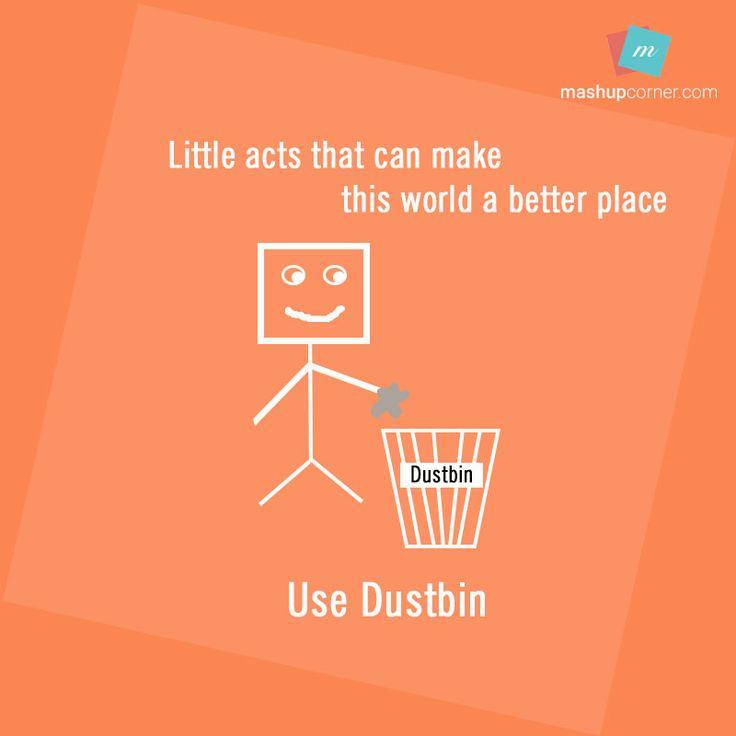 use dustbins - mashupcorner