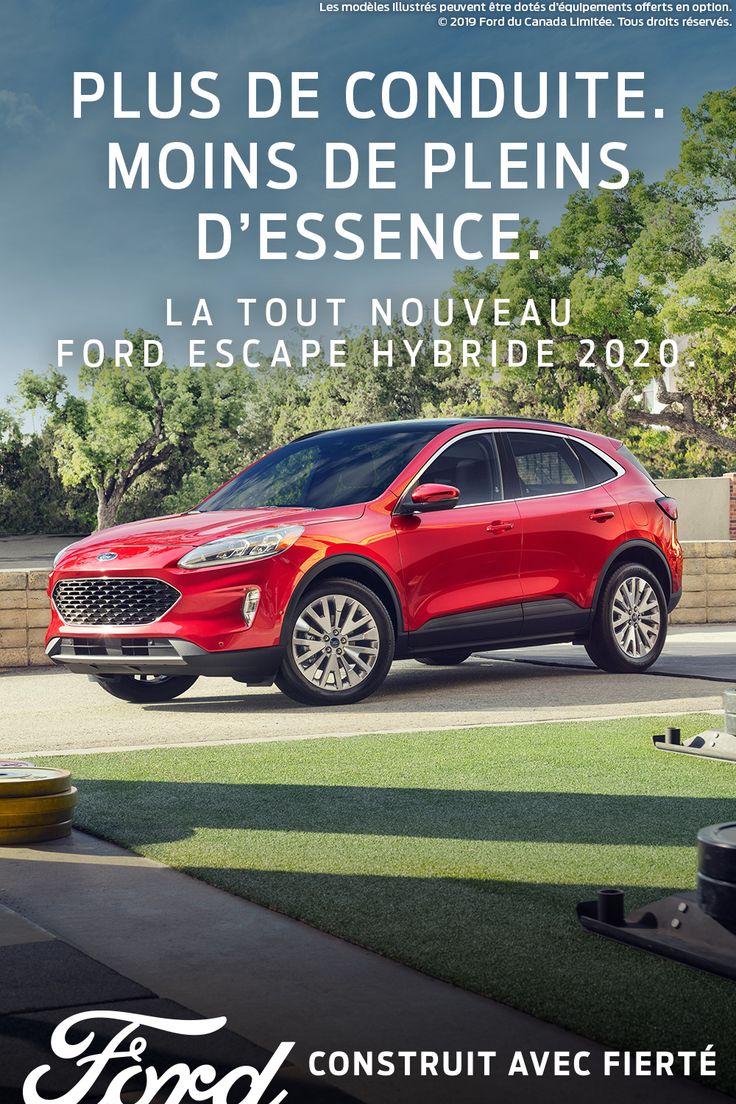 Le Ford Escape Est Bati Sur L Experience Et L Experience Nous Dit Que Vous Voulez Aller Plus Loin Ford Escape Ford Ford Motor Company