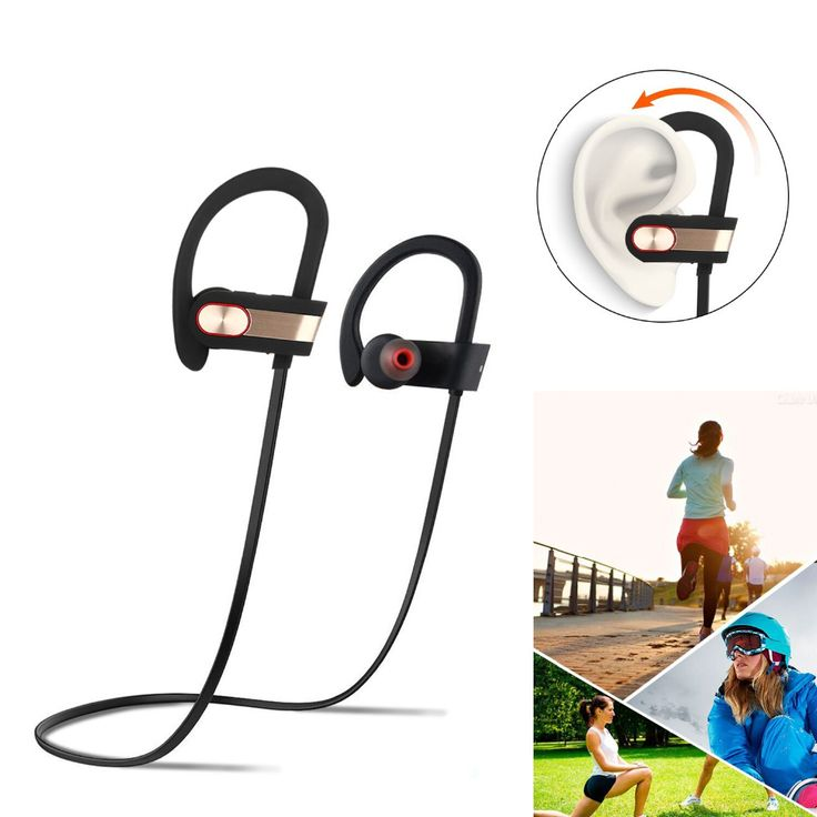Stereo Blutooth Sport Bluetooth Headset Wireless Headphones in Ear buds Earphone Earbuds for all phone with retail package | #InEarHeadphones