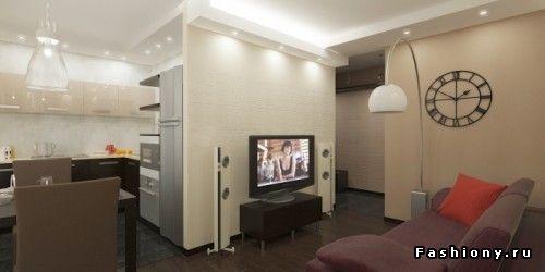 Решение для двухкомнатных квартир 'хрущевок' / как комфортно распланировать 44-метровую хрущевку