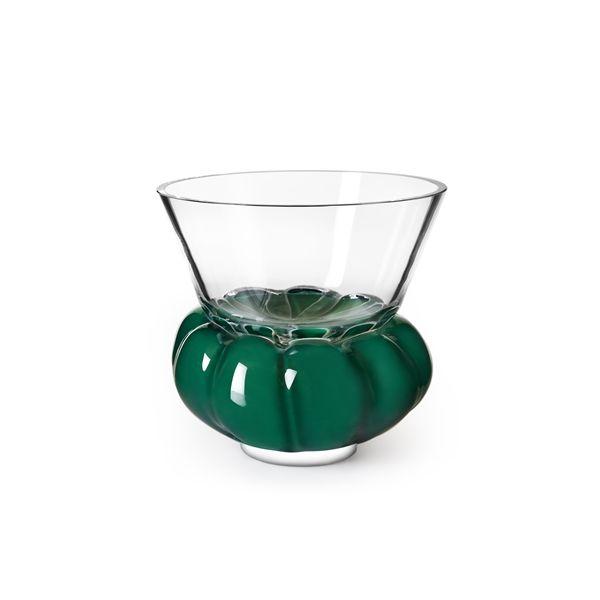 Anna Kraitz formger färgrika vaser och skålar för Målerås Glasbruk ‹ Dansk inredning och design