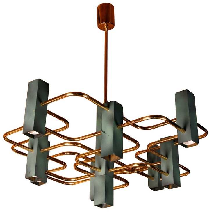Chandelier by Boulanger Ideas - Cool mid century ceiling light Inspirational