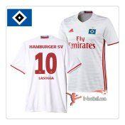 Le Nouveau Flocage Maillot De Foot Hamburger SV (Lasogga 10) Domicile 2016 2017