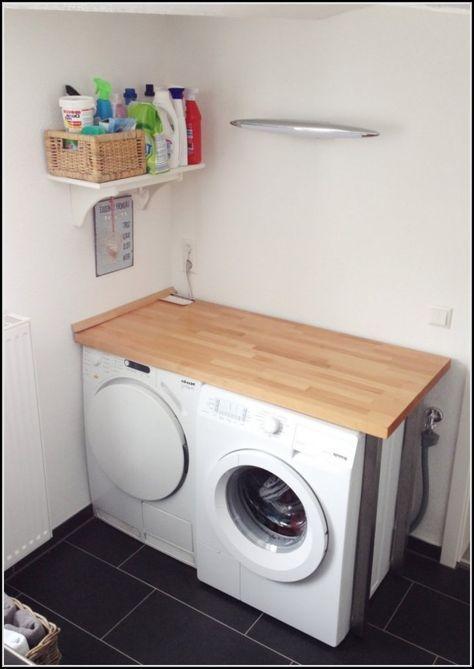 Waschmaschine Unter Arbeitsplatte Unser Haus In 2019 Pinterest