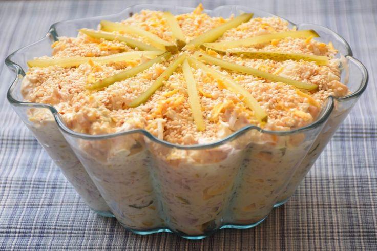 Susam sir salata uz praseće pečenje