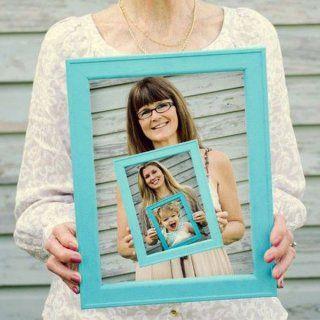 Fête des grands-mères 2016 : le cadre photo maison