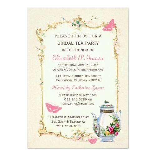 Best Bridal Shower Tea Party Images On   Bridal