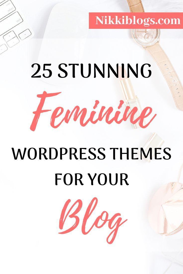 Best Feminine Wordpress Themes Genesis More Blog Themes