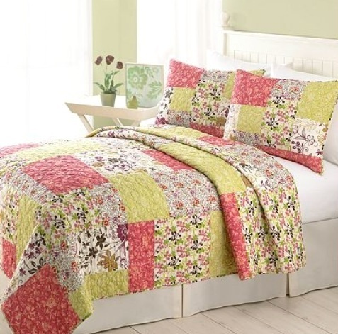 Twin Home Classics Alicia Quilted Pillow Sham Quilt