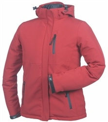 Misty Mountain Womens Insulated Jacket - Ruby