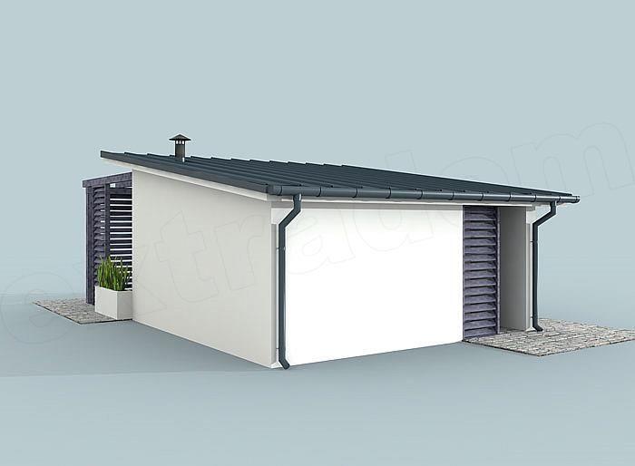 Projekt Kuchni Kl2 Kuchnia Letnia Bud Gospodarczy Modern House Plans Cabin Homes Little Houses