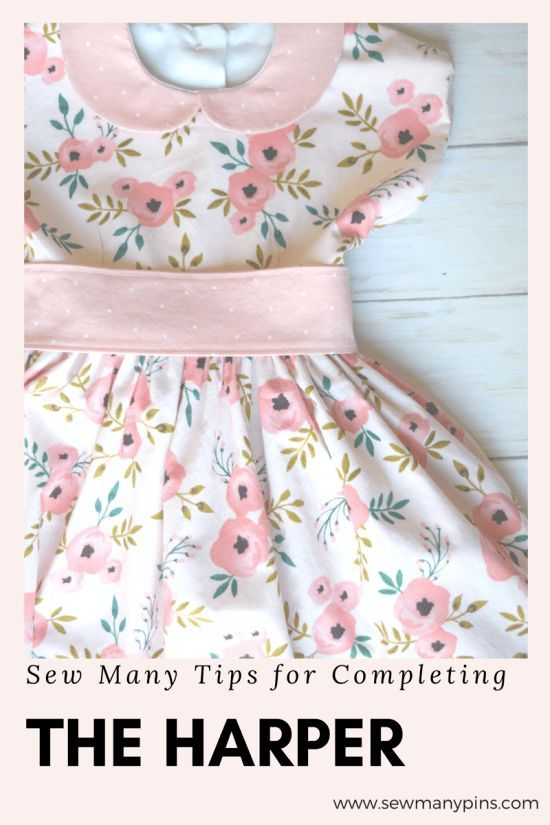 Sew Many Tips for Completing the Harper Dress Pattern