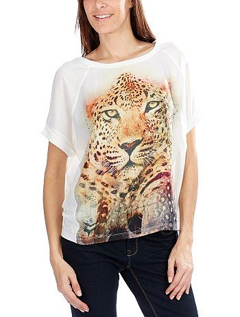 Maglietta stampa tigra  #kiabi