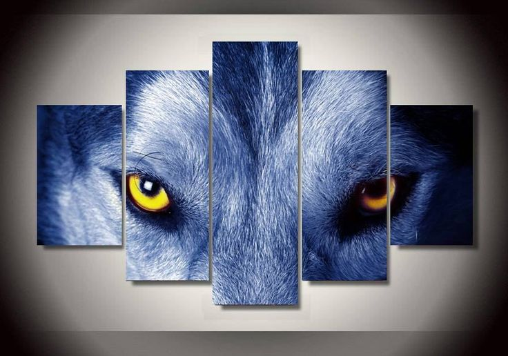 Wolf Eyes Canvas Print – TC Discount Store