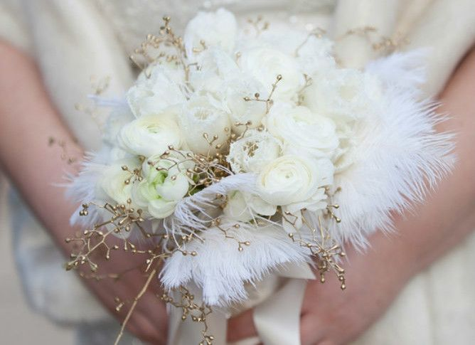 241 best wedding flowers images on pinterest jewish weddings great gatsby inspired wedding junglespirit Gallery