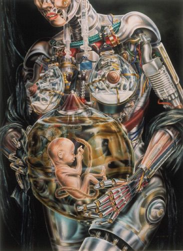 I think Heidi Taillefer's work speaks for itself. I find these surrealist anatomical paintings absolutely breath taking.