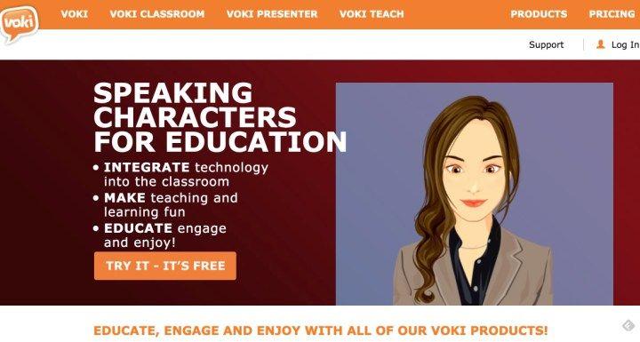 Voki. Dotez-vous d'un avatar numérique pour animer vos présentations