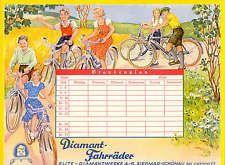DIAMANT  FAHRRÄDER  Stundenplan   1936   !!!!!!!!!!!!!