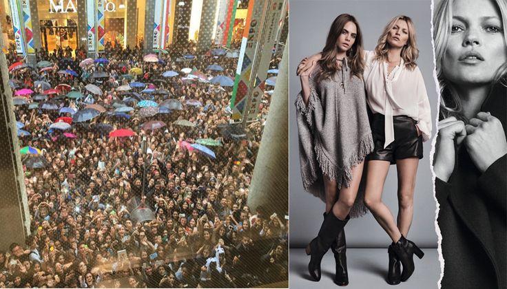 Le due top sono una coppia inseparabile sui set delle campagne di moda. Come quella di Mango, lanciata oggi durante la fashion week!
