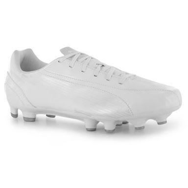 all white puma football boots