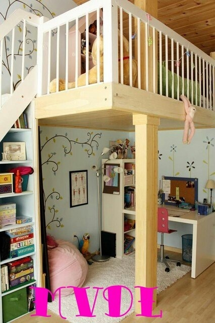 You'd never SEE your kids with a room like this. Need a builder?!
