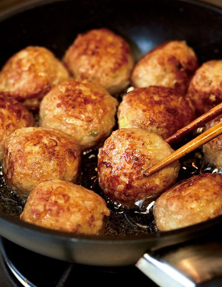 肉だんごは少ない油で揚げる!【オレンジページ☆デイリー】料理レシピをはじめ、暮らしに役立つ記事をほぼ毎日配信します!