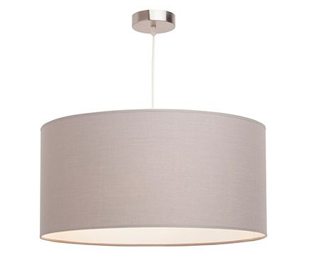 L mpara de techo 3 luces nicole gris inspire leroy for Salones leroy merlin