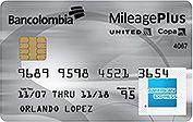 United-Copa   American Express mileage plus premium   Bancolombia