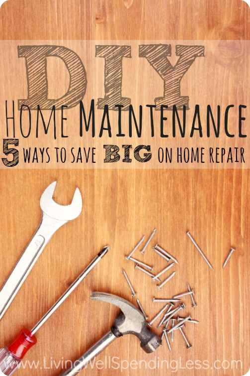 #Home #maintenance is necessary. Here's how to save #money on yours.