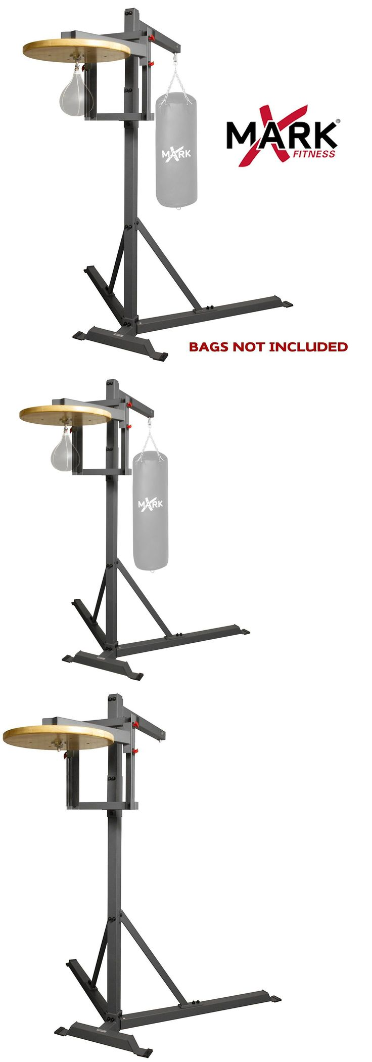 Bag Stands Platforms and Accs 179785: Xmark Commercial Heavy Bag Stand With Speed Bag Platform Boxing Training Xm-2848 -> BUY IT NOW ONLY: $739 on eBay!
