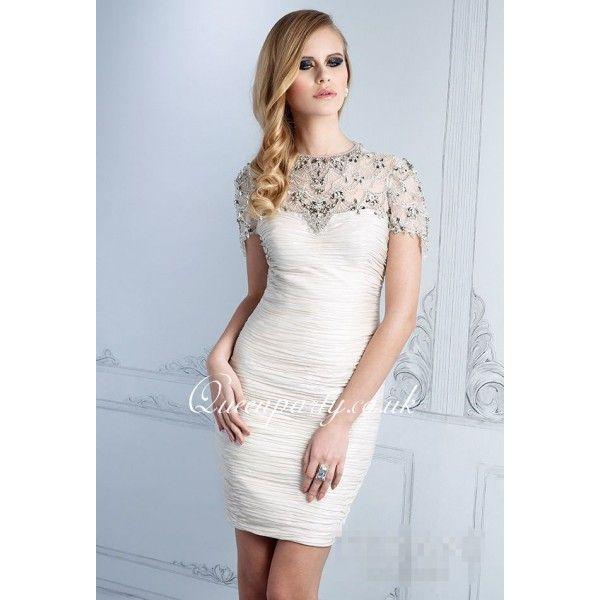 White Cocktail Dress \u2013 Leggings Or Nope? \u2013 careyfashion.com