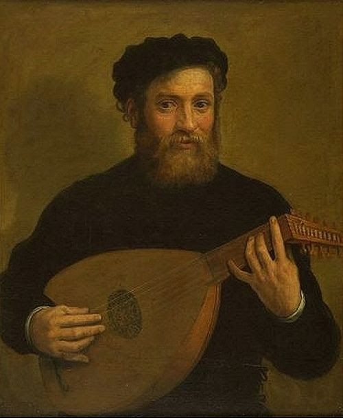 Carracci, Antonio (1589-1618) A Lute Player 1600?
