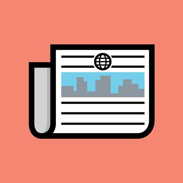 "97 Likes, 4 Comments - Graphic Designer + Illustrator (@fry18design) on Instagram: ""iPhone News app icon 📰 _____________________________________________________ #news #icon #design…"""