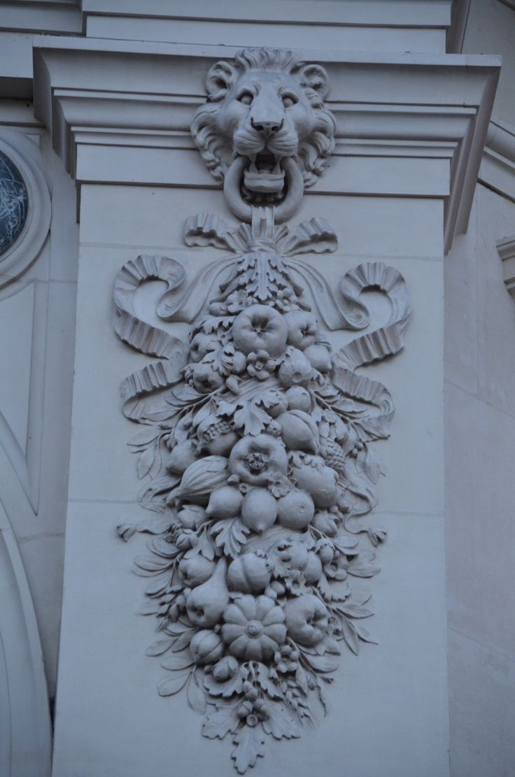 Architectural Detail in the streets of Paris,  pin by www.patrickdamiaens.be