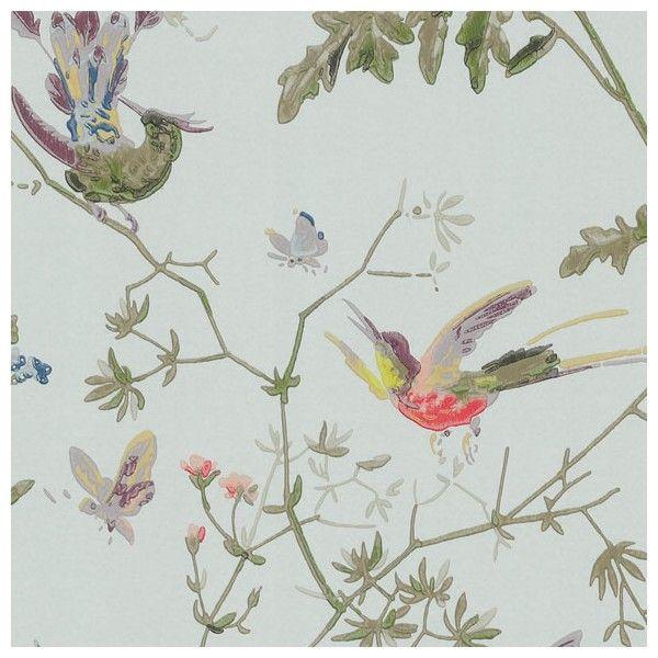 Les 25 meilleures id es de la cat gorie papier peint de petite salle de bains - Papier peint oiseaux ...