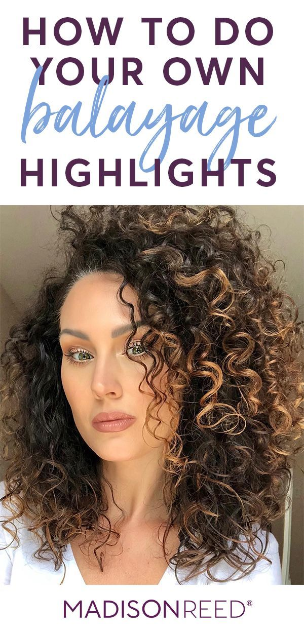 Get Easy At Home Balayage Highlights For Any Hair Length Or Hair Texture Using Madison Reed Light Works Wi Diy Highlights Hair Balayage Highlights Hair Lengths