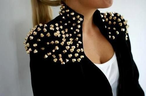 #fashion  #jacket #studs #fashionista  #popular  #outfit  #hair  #makeup  #vogue http://wam-bam-thank-you-sam.tumblr.com/post/47259843258