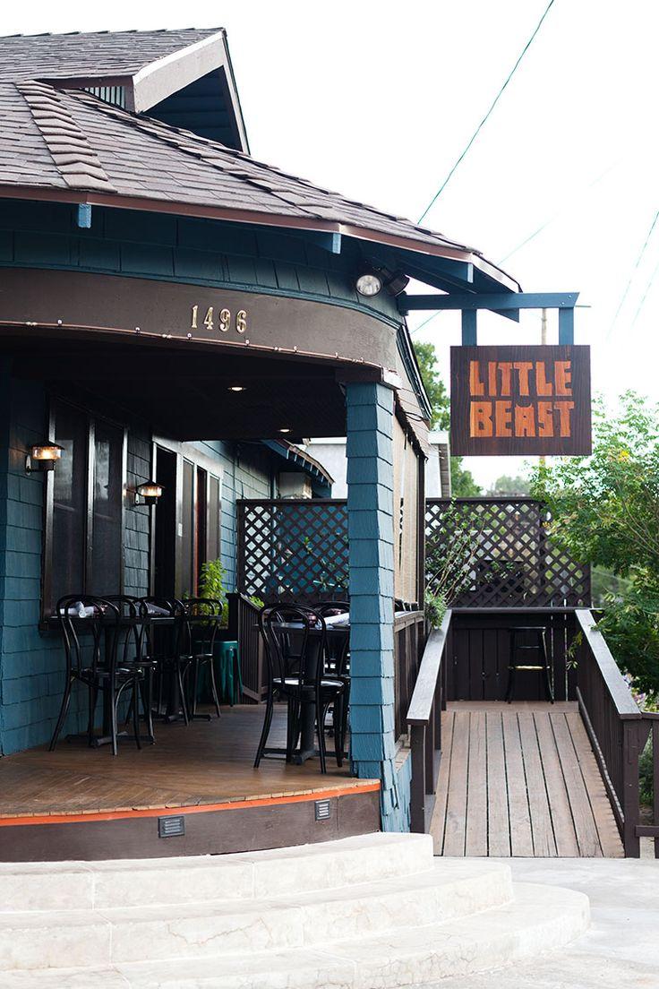 restaurant - near pasadena Little Beast 1496 Colorado Blvd Eagle Rock, California 90041