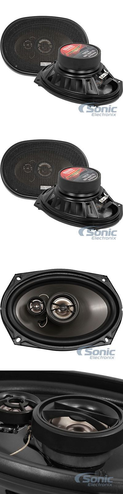 Car Speakers and Speaker Systems: Earthquake Sound T693x 200W Rms 6 X 9 3-Way Coaxial Car Stereo Speakers -> BUY IT NOW ONLY: $59.99 on eBay!