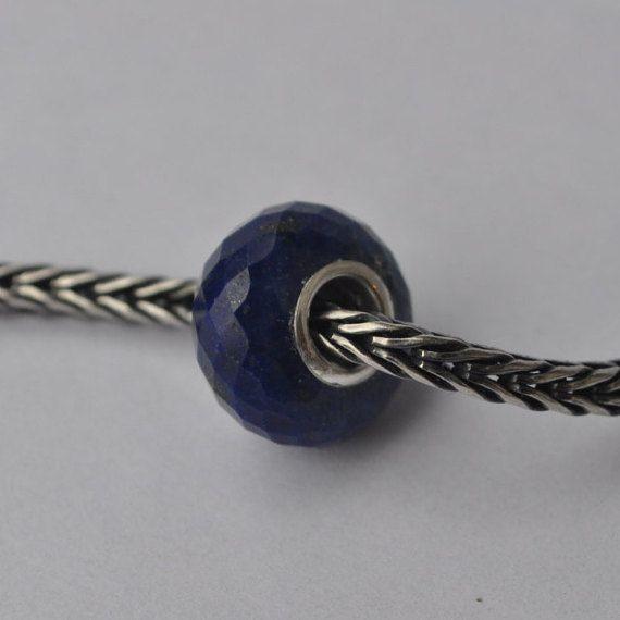Natural Lapis Lazuli gemstone bead for Pandora or от WiseOwlBead