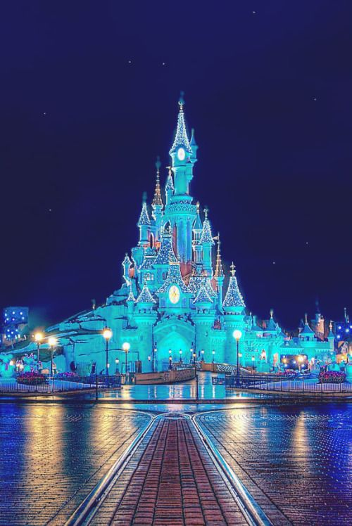 1k lights photo upload photograph disneyland night paris 5k castle 2k 4k vertical main street 3k