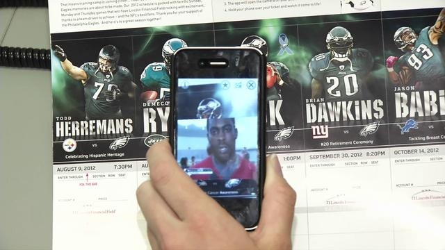Bring Your Eagles Tickets To Life! by Philadelphia Eagles