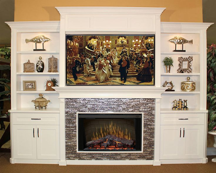 Built In Entertainment Center With Electric Fireplace Furniture Design  Gallery   Entertainment Centers   Custom .